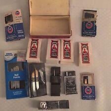 Vtg Antique 11 Pkgs Sewing Needles Sharps Talon Boye in a little red box