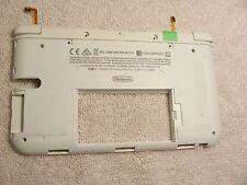 Nintendo 3DS XL Part Bottom inside Battery Plate R&L Flex Cable White