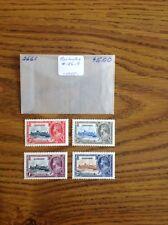 Barbados #186-9 1935 Stamp Set Of 4
