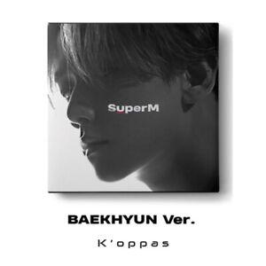 SUPER M 1st Mini Album BAEKHYUN Ver. CD+Booklet+Mini Booklet+Random Card+Poster