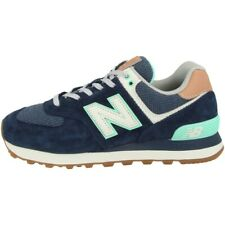 New Balance WL 574 BCM Schuhe Sneaker natural indigo faded mahogany WL574BCM