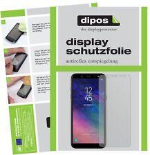 2x Samsung Galaxy A6 Schutzfolie matt Displayschutzfolie Folie Display Schutz