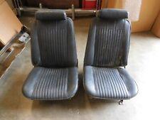 1968 Chevelle 442 Skylark GTO Bucket Seats with Headrests SUPER RARE OPTION!