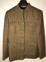 Brooks Brothers Women's Size 16 100% Wool Harris Tweed Blazer Jacket-NEW