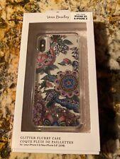 Vera Bradley NWT - iPhone X iPhone XS Glitter Flurry Case