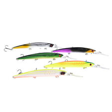 1pc 14.5cm 12.7g minnow fishing lure crankbait wobbler deep diving bait RDR