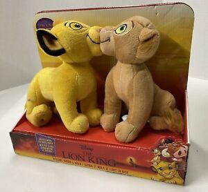 NEW Disney The Lion King Movie 2019 Kissing Simba and Nala Plush Animals