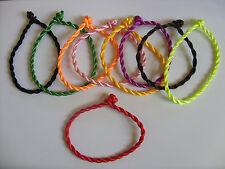 10 x colori misti Stringa Kabbalah Braccialetti Portafortuna Contro Malocchio per Successo