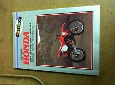 1981-1988 Honda CR60 CR80 CR125 Clymer Manual