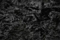 """VELVET PANNE CRUSHED BACKDROP VELOUR STRETCH FABRIC 60"""" WIDE BLACK BY THE YARD"""