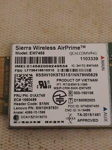 Lenovo ThinkPad Yoga 370 Sierra Airprime EM7455 WWAN Karte 4G Modul LTE