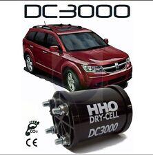 Kit HHO Idrogeno DC 3000 con 31 piastre in acciaio 2700 a 3400 cc benzina diesel