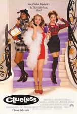 CLUELESS Movie POSTER PRINT 27x40 Alicia Silverstone Stacey Dash Paul Rudd