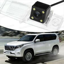 4 LED CCD Rearview Camera Reverse Parking Backup for Toyota Land Cruiser 07-15