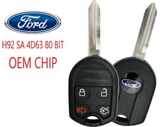 New Ford 4 Button Remote Key CWTWB1U793 80 Bit SA OEM Chip 4D63 A+++ USA Seller
