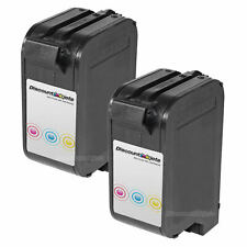 2PK C1823D for HP 23 Tri COLOR Inkjet Cartridge Deskjet 710 720 722 782 810 830c