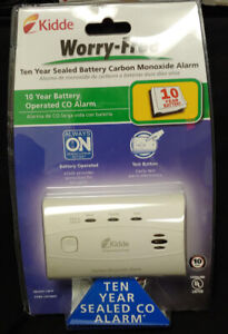 Kidde Worry Free 10-Year Lithium Battery Carbon Monoxide Detector New In Package