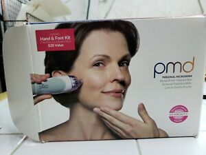 PMD Personal Microderm Hand & Foot Kit 110v NEW OPEN BOX