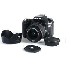 ^ Pentax K100D Super 6.1mp Digital SLR Camera w/ Pentax 18-55mm f3.5 5.6 Lens