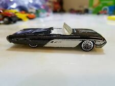 Hot Wheels Main 1963 63 FORD T-Bird Sports Roadster Black with White #130 1/64