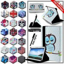 Para Varias Samsung Galaxy Tab 2/3/4 Tableta -folio Soporte Cuero Funda + Pluma