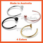 Titanium Surgical Steel Silver Rose Gold Black Nose Stud Ring Hoop Body Piercing
