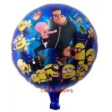 "Despicable Me Minion balloon 18"" Gru Agnes Decorations  party birthday"