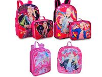 JoJo Siwa Little Girls Pink School Backpack Lunch box Book Bag Bow Kids Toy Gift