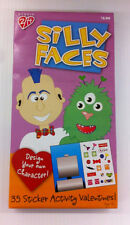 Silly Faces Valentines - Sticker Activity Cards for Kids by Studio 2/14