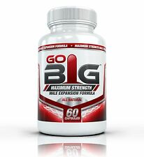 Go Big Maximum Strength 60 Capsules Free Shipping in The USA