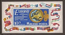 Hungary 1975. SG MS2975 (MNH) Europa, Helsinki, map in cogs