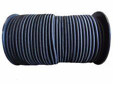 8mm x 10 METERS, BLACK STRONG ELASTIC BUNGEE ROPE SHOCK CORD TIE DOWN FREE POST