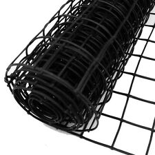 Plant Support Netting 1x10m Plastic Garden Fence 50mm Hole Mesh Clematis Net BK