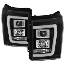 Spyder Auto 5084460 Version 2 Projector Headlights Black For Ford F-250