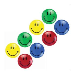 Large 4cm Smiley Face Fridge Magnets Memo Magnet Notice Board 1, 8, 16