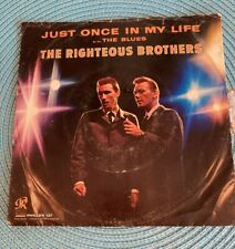 New listing The Righteous Brothers, Just Once In My Life/The Blues 45