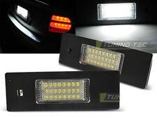 Placchette Luci Targa LED per BMW E63 E64 E81 Serie 1 6 E87 Z4 per Mini CANBUS I