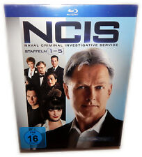 NCIS - Die komplette Staffel/Season 1,2,3,4,5 [Blu-Ray] Box, Deutsch(e) Version