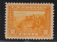 1913 Panama Pacific 10c Sc 400 MH OG single CV $115