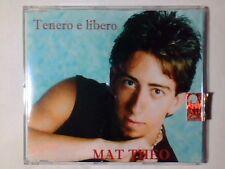 MAT THEO Tenero e libero cd singolo PR0M0 RARISSIMO