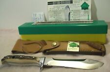 1984~PUMA WHITE HUNTER~6375~NEW~HIGH END GERMAN STAG HUNTING KNIFE~COMPLETE +BOX