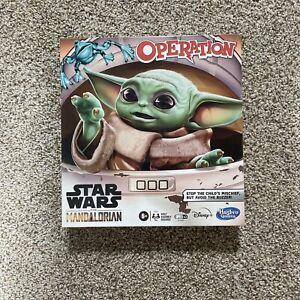 Operation Game: Star Wars The Mandalorian Edition Board Game for Kids