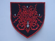 SURRENDER OF DIVINITY BLACK METAL EMBROIDERED PATCH