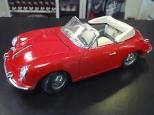 Porsche 356B Cabriolet 1961 1:18 rood