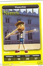 Carte Carrefour Dreamworks n° 26/216 - PINOCCHIO - Shrek