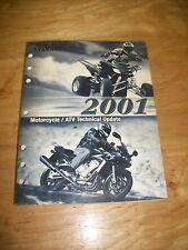 2001 Yamaha Motorcycle & Atv Technical Update Manual