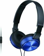 Sony ZX MDR-ZX310AP/L Series Headband Stereo Headset- Blue