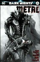 DARK NIGHTS METAL #6 DELL'OTTO VARIANT NM JOKER BATMAN WHO LAUGHS HARLEY QUINN