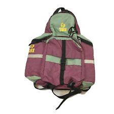 Swix Pink XC Backpack Daypack Bag Ski Hiking Water Zip Pockets Padded Adjustable