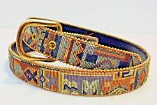Gobelin Belt w/Metal Backlie